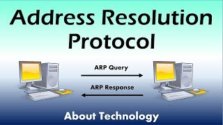 Meaning and working of ARP (Address Resolution Protocol) | ARP caching & Proxy ARP