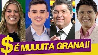 SE SURPREENDA COM O SALÁRIO DE DUDU CAMARGO E DE VÁRIOS APRESENTADORES DA TV