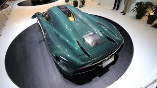 World's first customer Koenigsegg Regera ft. Green Carbon