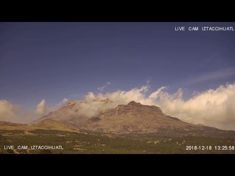 Monitoreo Volcán Iztaccihuatl EN VIVO