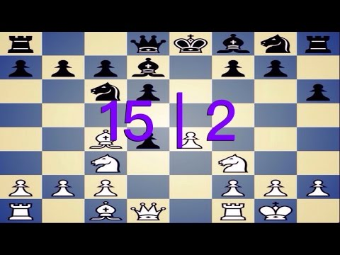 15 | 2 Standard Chess Game (Philidor's Defense)