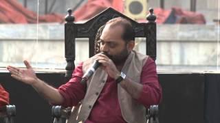 Anindya Chandril at Tata Steel Kolkata Literary Meet 2015 Part 1