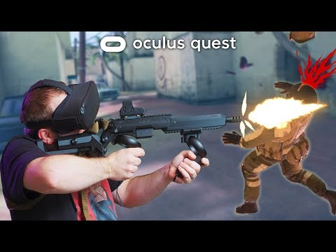 The BEST Oculus Quest Gun Stock | Virtual Rifle Systems Review