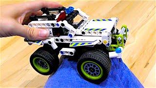 Лего супер прочный полицейский джип - инерционная машинка