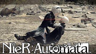 YouTube動画:【NieR:Automata】命もないのに、殺し合う。#41
