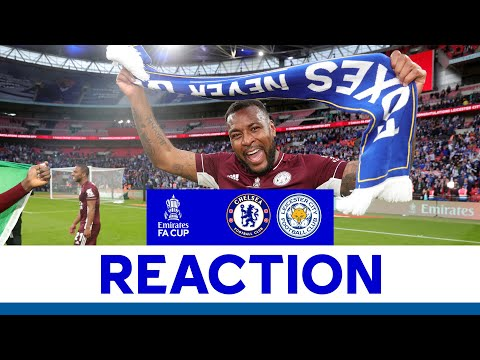 'We Did It Together' - Wes Morgan | Chelsea 0 Leicester City 1 | FA Cup Final