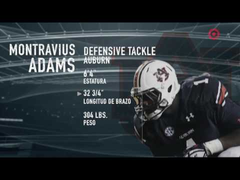 Montravius Adams rumbo al Draft NFL 2017 | Defensive Tackle