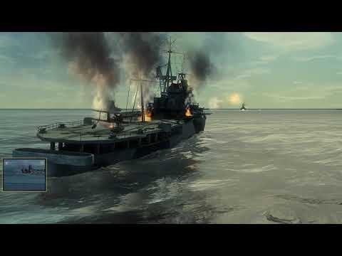 sinking the battleship yamato SH4