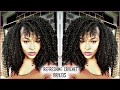 How to Refresh/ Maintain Crochet Braids | How to Style and Blend Leave Out