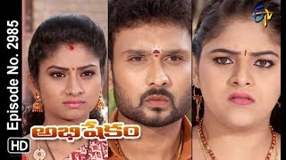 Abhishekam | 10th August 2018 | Full Episode No 2985 | ETV Telugu