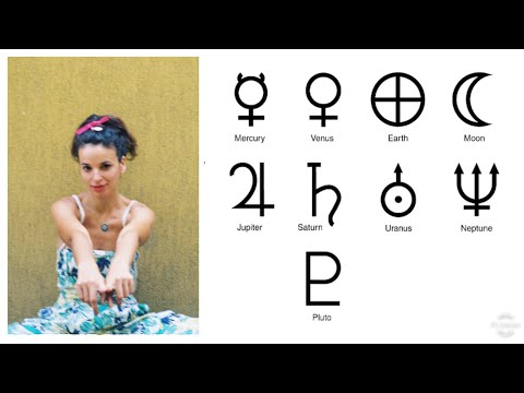 Deep Esoteric Meaning Of Planetary Glyphs / Symbols In Astrology