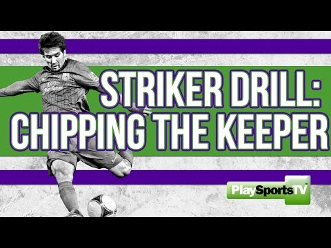 Soccer  Chipping the Keeper