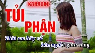 Tủi Phận Karaoke Hoàng Dũng