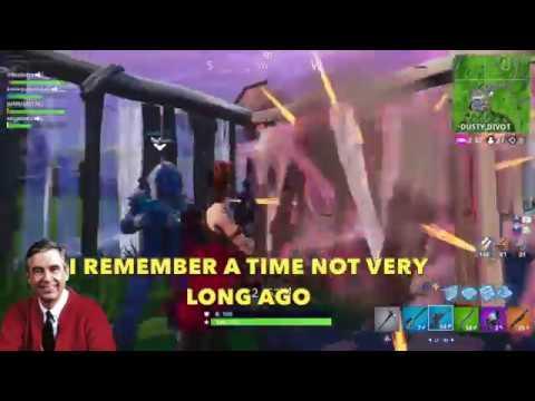 Mr  Rogers Plays Fortnite - SOUNDBOARD PRANK!