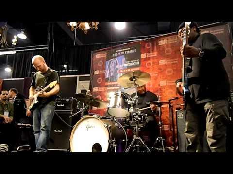 Oz Noy Trio (with Darryl Jones) at NAMM 2013