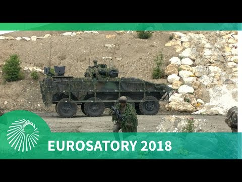 Eurosatory 2018: Live Daily Demonstrations