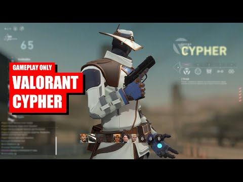 VALORANT Gameplay Only Cypher