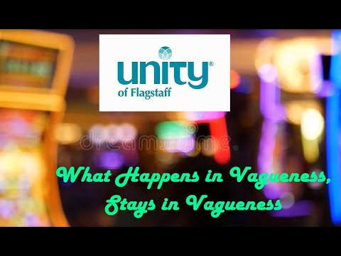 What happens in Vagueness-Stays In Vagueness Rev. Penni ...