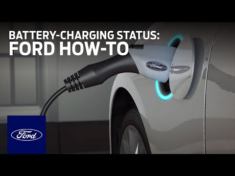 Ford Electric Vehicles Viewing Battery Charging