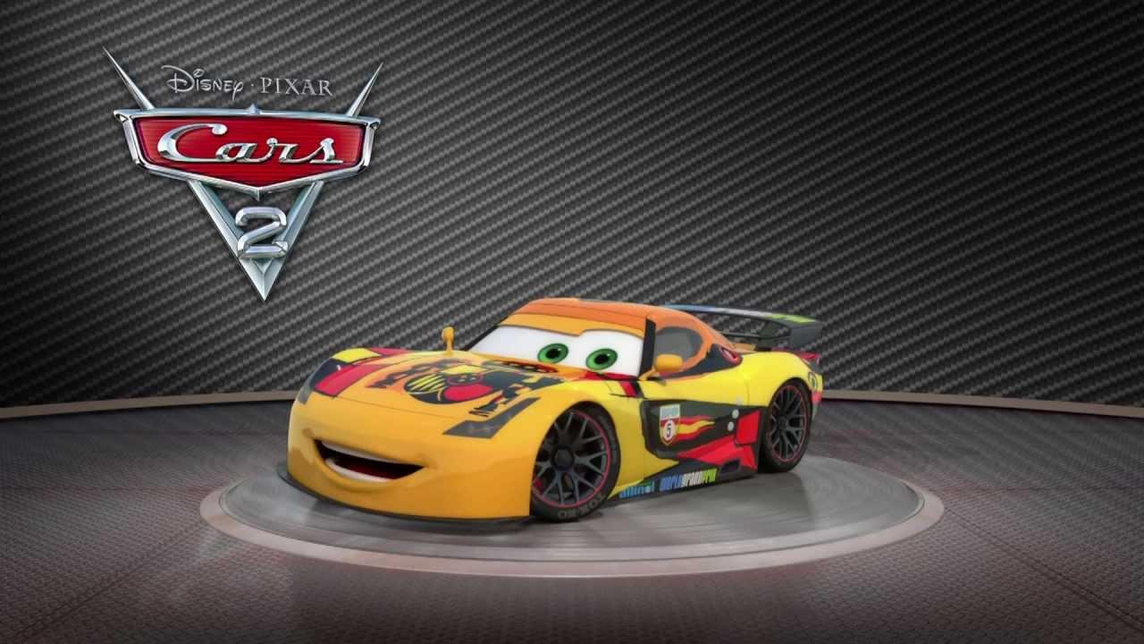 Pixar cars 2 turntable miguel camino 2011 high def youtube - Coloriage cars 2 miguel camino ...