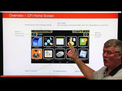 CFI trainer/professional driver presents PeopleNet