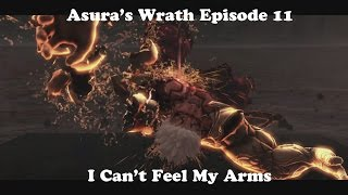 Asura's Wrath Episode 11: I Can't Feel My Arms (Augus Boss Fight)