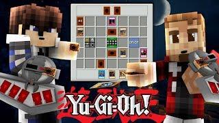 Minecraft YUGIOH MOD! #1 - Starter Decks & Dueling! ( Yu-Gi-Oh Modded Minecraft )