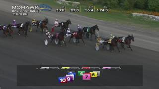 Mohawk, Sbred, Aug. 12, 2016 Race 1