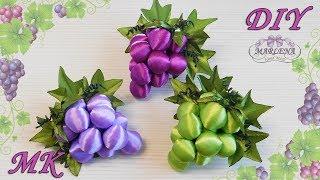 Lindo cacho de uvas com fitas