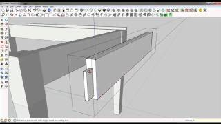 Sketchup Tutorial: Basic Table With Component