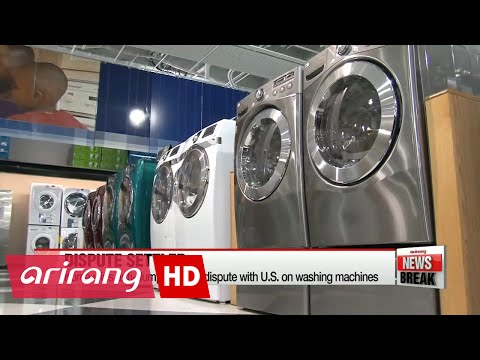 Korea wins anti-dumping WTO dispute with U.S. on washing machines