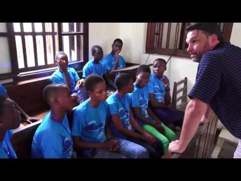 Peace Jam Ghana 2016: Shark Tank Workshop Excerpts (Ghana Basketball Team)