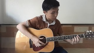 (One Direction) What makes you beautiful - Fingerstyle Guitar Cover by Tran Quoc Huy