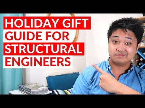 Top 5 Gift Ideas For Civil Structural Engineers (Holiday Gift Guide 2019)