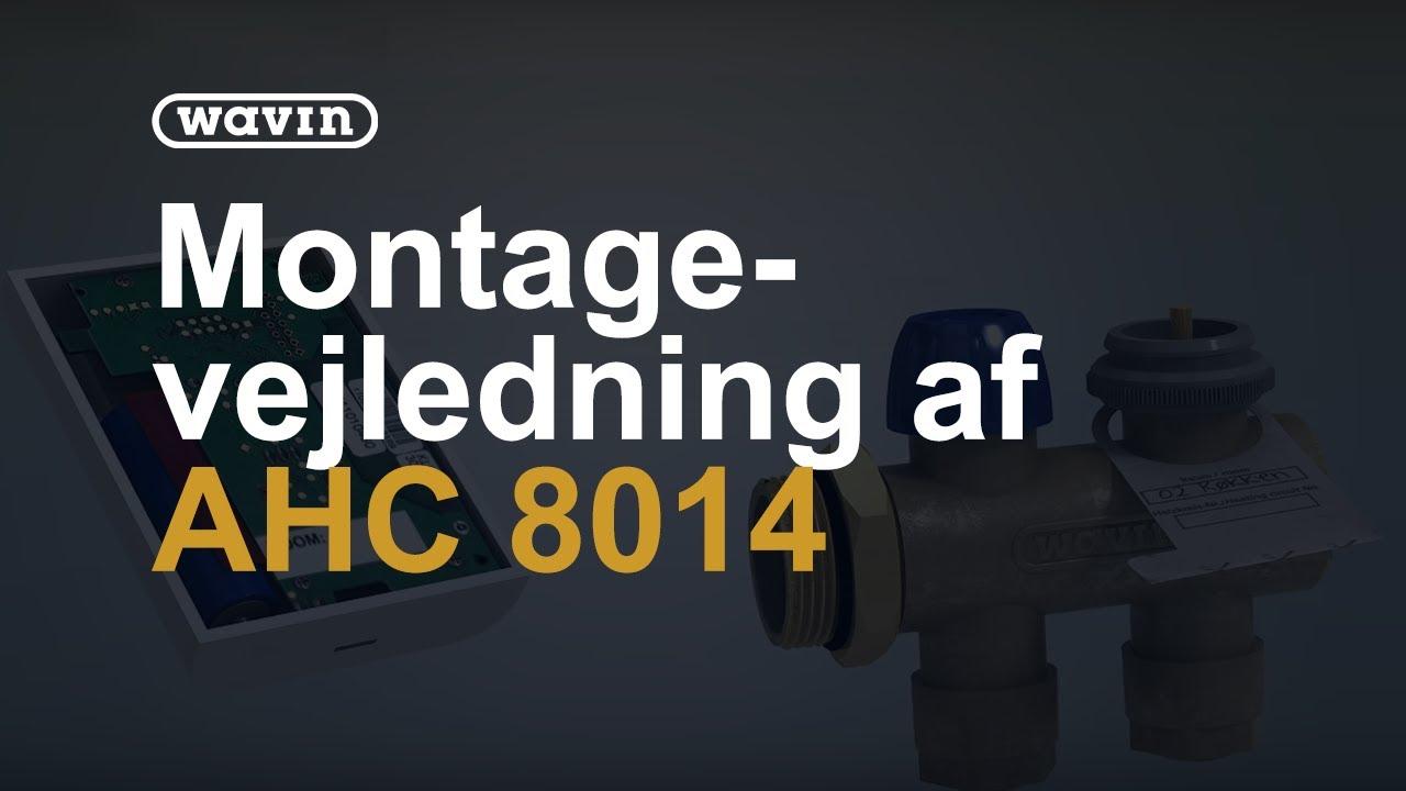 Massivt Wavin AHC 8014 - gulvvarmesystem & vejledning - YouTube OA12