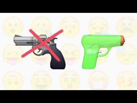 Apple to ditch gun emoji