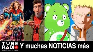Tube Radio ¡SOLTÓ LA SOPA! de Avengers Endgame, se viene Invasión Secreta, Venom, Naruto Shippuden