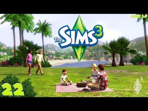 The Sims 3 #22 ДР двойняшек   Cary LP