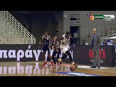 Παναθηναϊκός - Κολοσσός Ρόδου 90-67 | Στιγμιότυπα - 4η Αγωνιστική Basket League (22/11/2020)
