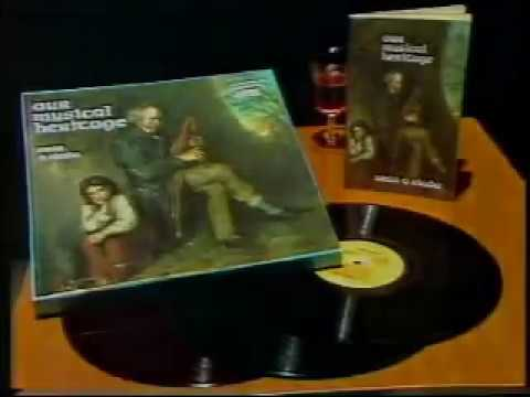 Seán Ó Riada Our Musical Heritage TV Ad 1982