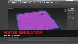 Water Simulation Tutorial in 3DS Max (No Plugins) : Tutorial