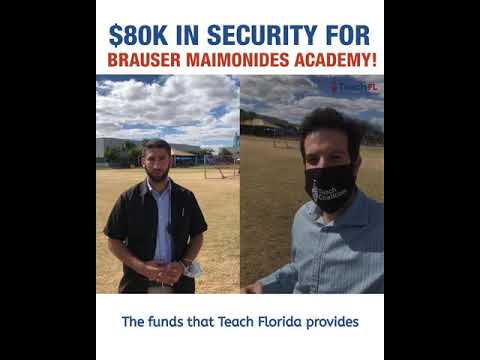 $80K IN SECURITY FUNDING FOR BRAUSER MAIMONIDES ACADEMY