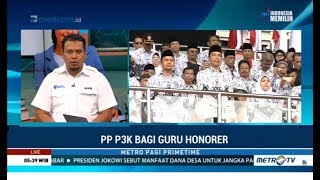 Jokowi Kabulkan  Mpian Guru Honorer 1 Desember Terbitkan PP P3K