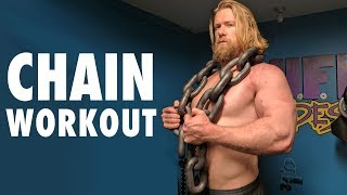 5 Best Exercises using Chains | Chain Workout!!