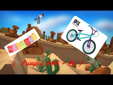 Pumped BMX + Road to completing the game #1 |