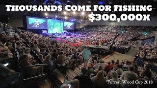 Thousands Come for Fishing $300,000 to WIN and a Silver Trophy