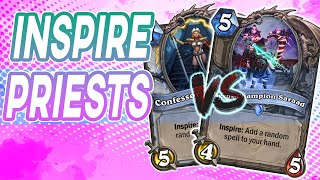 Just A Couple Of Inspire Priests Fighting | Wild Hearthstone