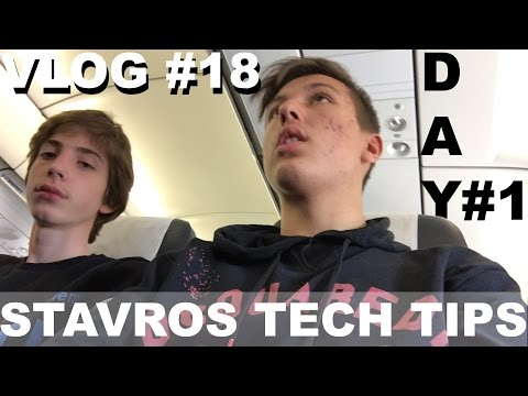 ΠΑΜΕ CERN !!! | DAY 1 | VLOG #18  | Stavros Tech Tips | Travel VLOG
