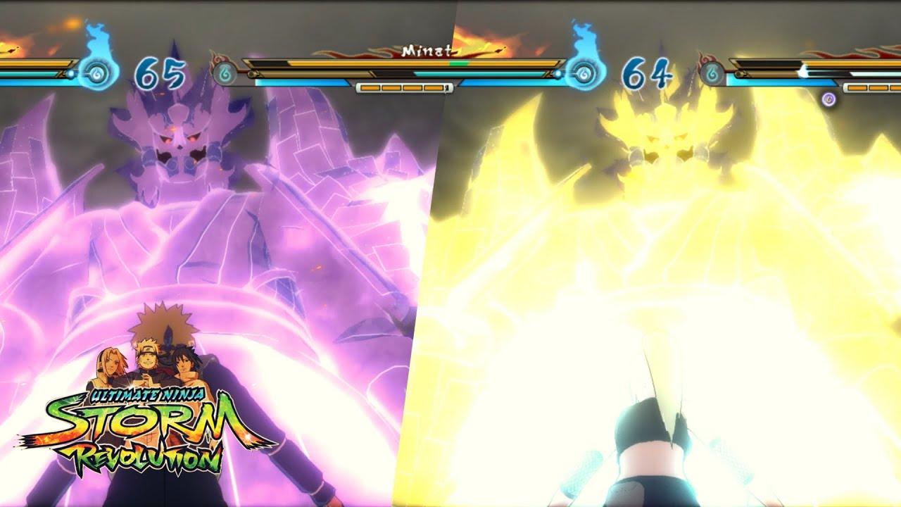 naruto storm revolution kakashi perfect susanoo sasuke