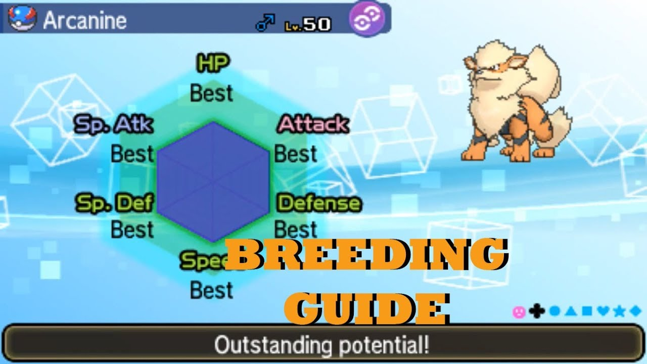 HOW TO BREED FOR IVs IN POKEMON ULTRA SUN AND ULTRA MOON